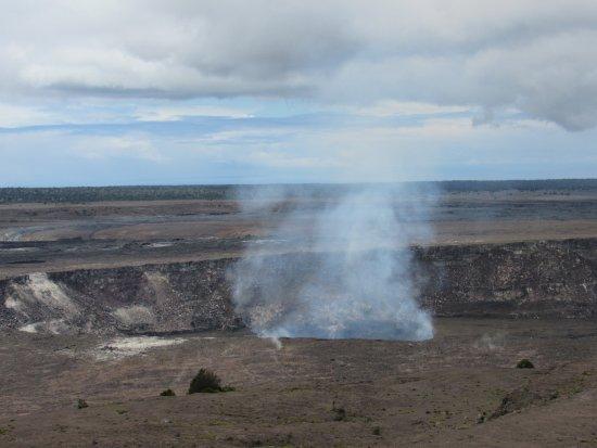 Thomas A. Jaggar Museum : Kilauea caldera