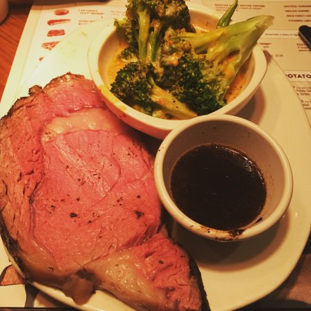 D'Iberville, MS: prime rib steak, the smallest portion)