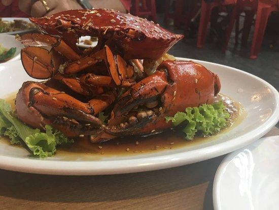 Cu Cha Restaurant: Crab