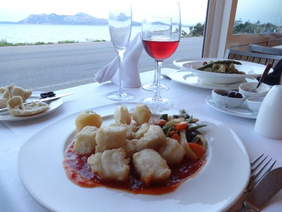 Restaurant Ca'n Josep: Front line table.