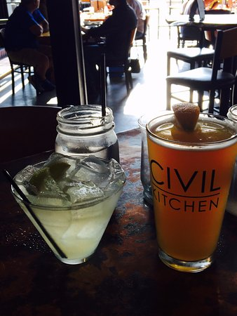 Drinks Picture Of Civil Kitchen Springfield Tripadvisor