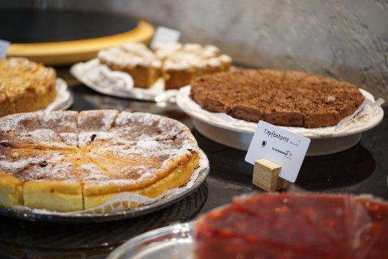 Biohotel Leutascherhof: hausgemachte, wunderbare Kuchen und Torten!