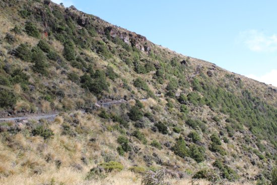 Tongariro Nationalpark, New Zealand: Trailheading for Ketetahi