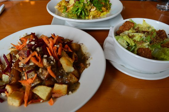 The Sprout: Vegan Sprout Poutine, Caesar Salad, and Curry