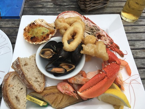 Dittisham, UK: Fish Platter :)
