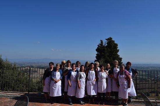 Montefollonico, İtalya: Cook in Tuscany at La Costa