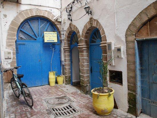 Hotel Les Matins Bleus : Eingang