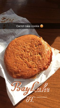 Carrot Cake Cookie Disney Hollywood Studios