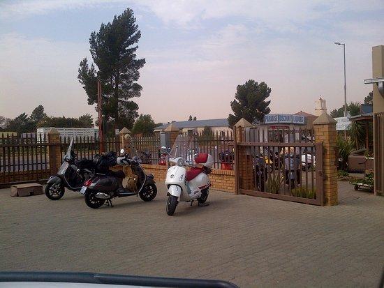 Delareyville, South Africa: Parking