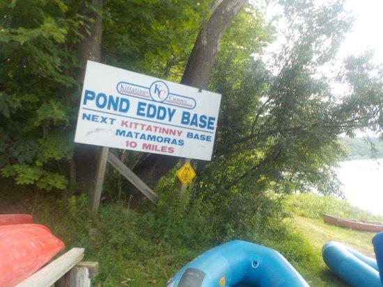 Matamoras, Pensilvania: Gear up for a lot of paddling!
