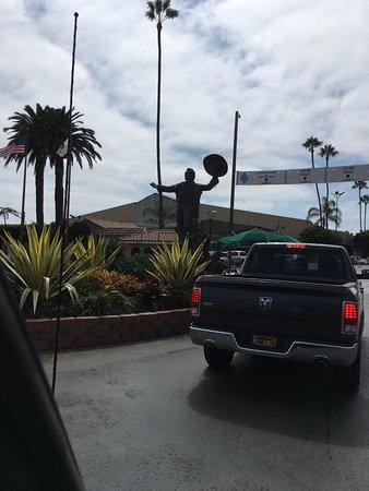 Del Mar, كاليفورنيا: Cowboy welcome