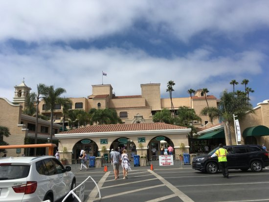 Del Mar, كاليفورنيا: Front-entrance