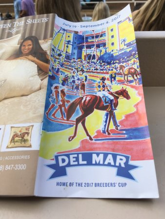 Del Mar, CA: Daily Race infomation