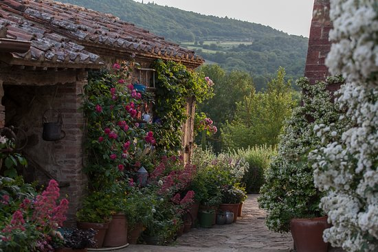 Torrita di Siena, إيطاليا: Garden corners