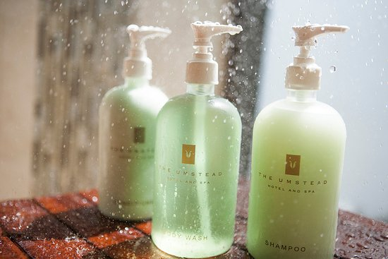 The Umstead Spa: Our signature botanical spa products