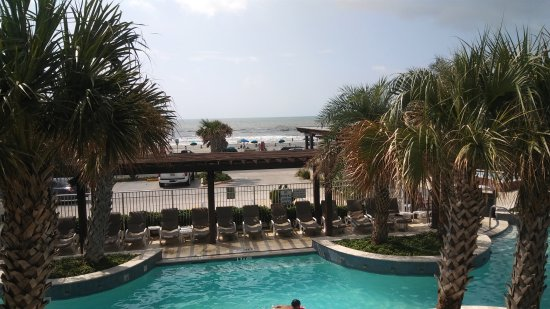 Galveston Island, TX: View from our room