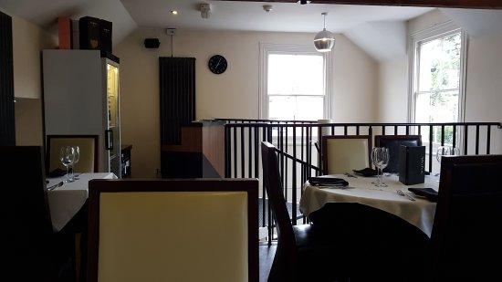 Tenbury Wells, UK: Inside upstairs