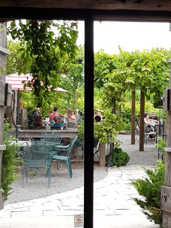 Bloomfield, Canada: The vineyard patio
