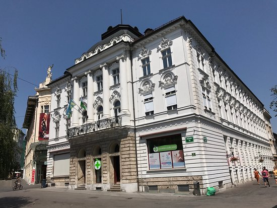 Ljubljana Central Pharmacy Building