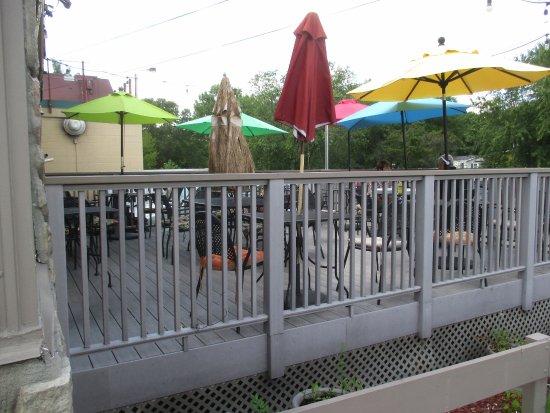 Welsch's Big Ten Tavern: One of two decks