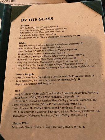 Sage: wines