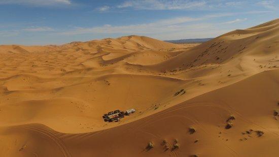 Ksar Bicha: Bivouac dans les dunes