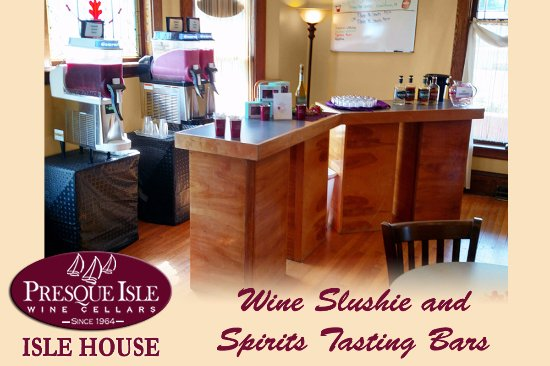 North East, Pensilvania: Wine Slushies and Spirits Tasting Bars