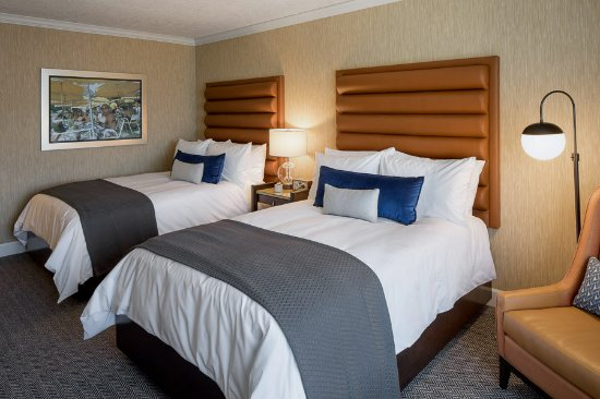 Standard Two Double Beds Picture Of Dossier Hotel Portland Tripadvisor