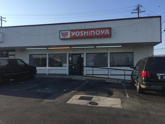 Yoshinoya at NWC of Valley Blvd. and Marengo St. in Alhambra