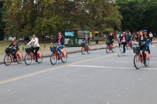 La Bicicleta Naranja Tours: eramos un montón, super fun!!!