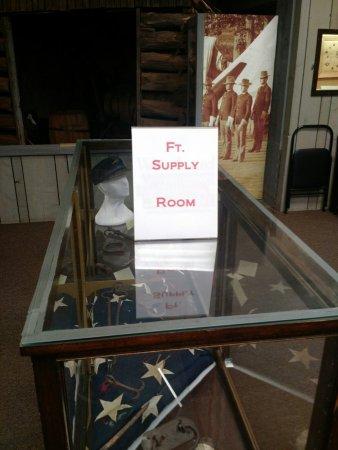 วูดวาร์ด, โอคลาโฮมา: Fort Supply Exhibit