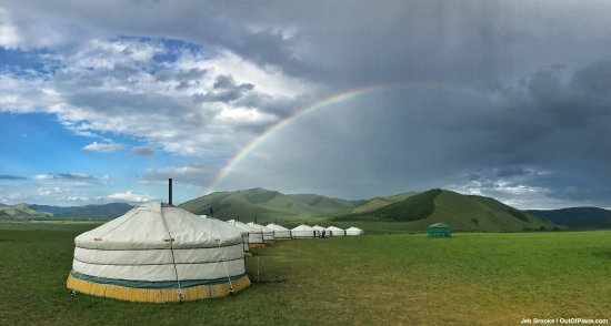Jalman Meadows Wilderness Camp: The gers are very comfortable. And the sky puts everything in perspective.