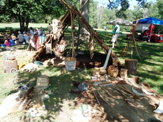 Red Clay State Historic Park: 1700-1800's  encampment