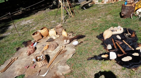 Red Clay State Historic Park: Encampment