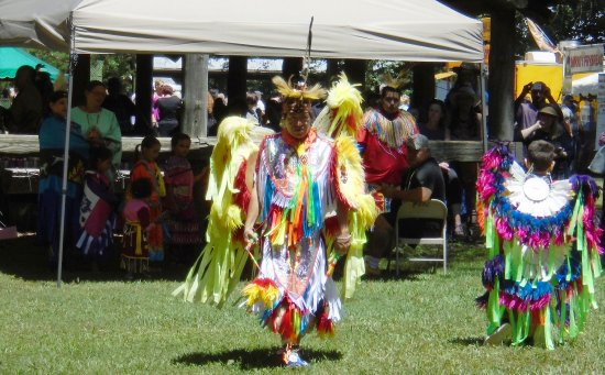 Red Clay State Historic Park: Cherokee dancers