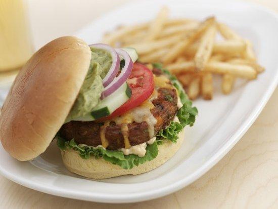 London, Кентукки: Southwestern Veggie Burger