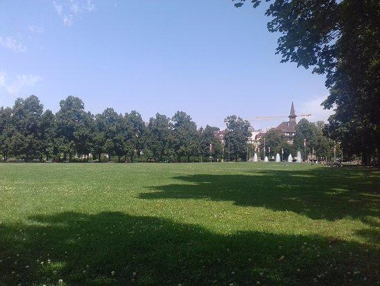 Parc de Milan et crêt de Montriond
