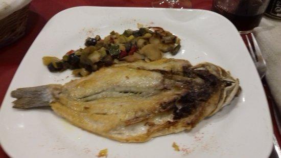 Santa Coloma de Queralt, Ισπανία: Pescado