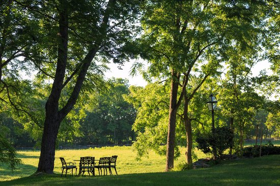 Middletown, Estado de Nueva York: Enjoy a morning cup of joe overlooking the pastures.