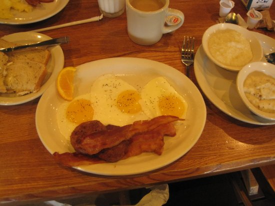 "Muncy, PA: Double Meat breakfast with ""fixin's"""