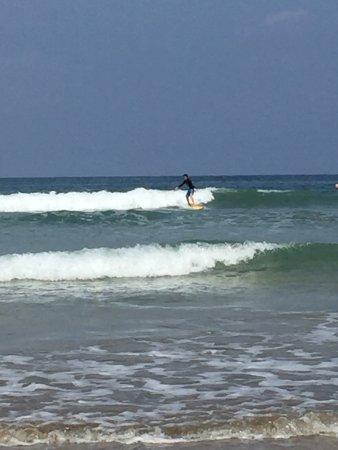 Santa Cruz, Costa Rica: Avellanas Surf School was the best.