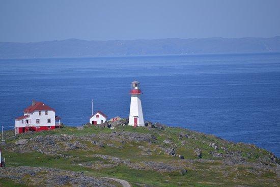 Quirpon Island, Kanada: Main house and Light house
