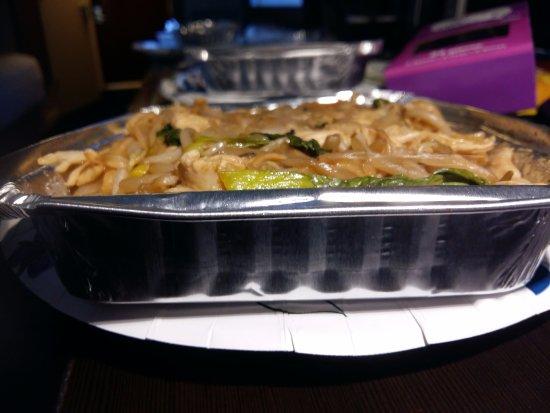 Side Depth Of Stir Fried Chicken Ramen Dish Yum Picture