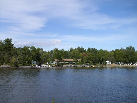 Callander, Canada: View from the water