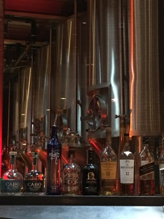 Triumph Brewing Company: the brewing vessels
