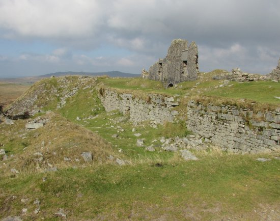 Princetown, UK: Ruin of Quarry managers house Foggintor Dartmoor