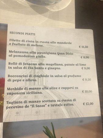 Borgo San Lorenzo, Italy: Gran Disìo bistrot