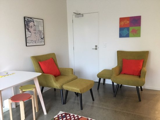 Wellington City Bed and Breakfast: Seating area