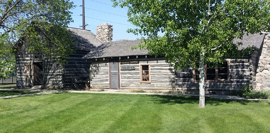 Alexandria, MN: Historic Buildings in our Open Air portion of the Museum
