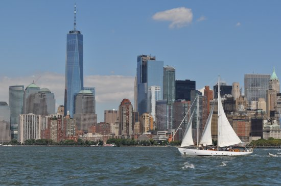 Manhattan By Sail - Clipper City Tall Ship: View of the city